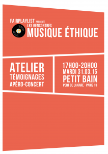 Invitation FACE B - Rencontres Musique éthique R